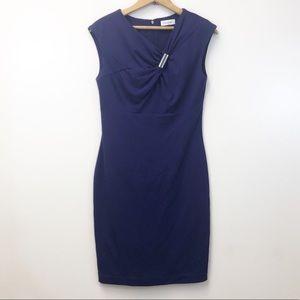 Calvin Klein Purple Dress